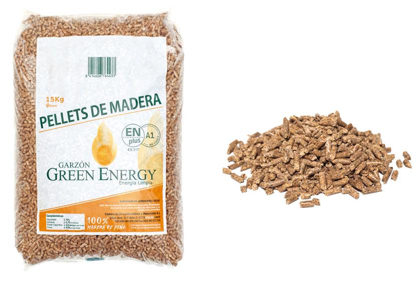 Pellet Garzón Green Energy, certificado Enplus A1